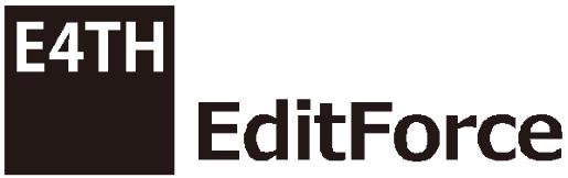 エディットフォース株式会社の企業ロゴ